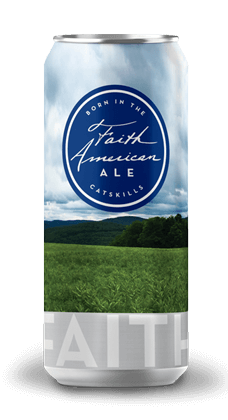 Faith American Ale can