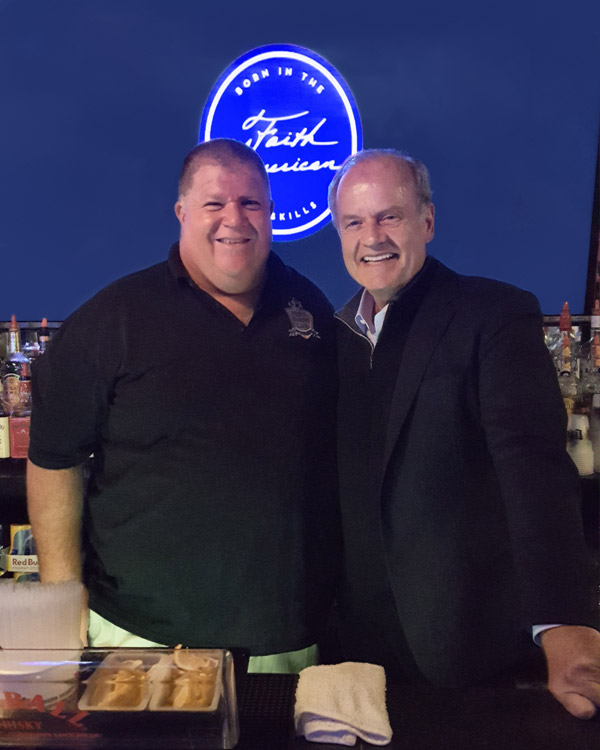 Huey's Knight Club hosts Kelsey Grammer and Faith American Ale