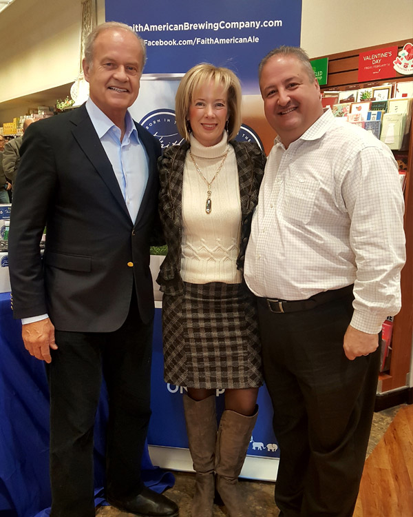 Kings hosts Kelsey Grammer and Faith American Ale