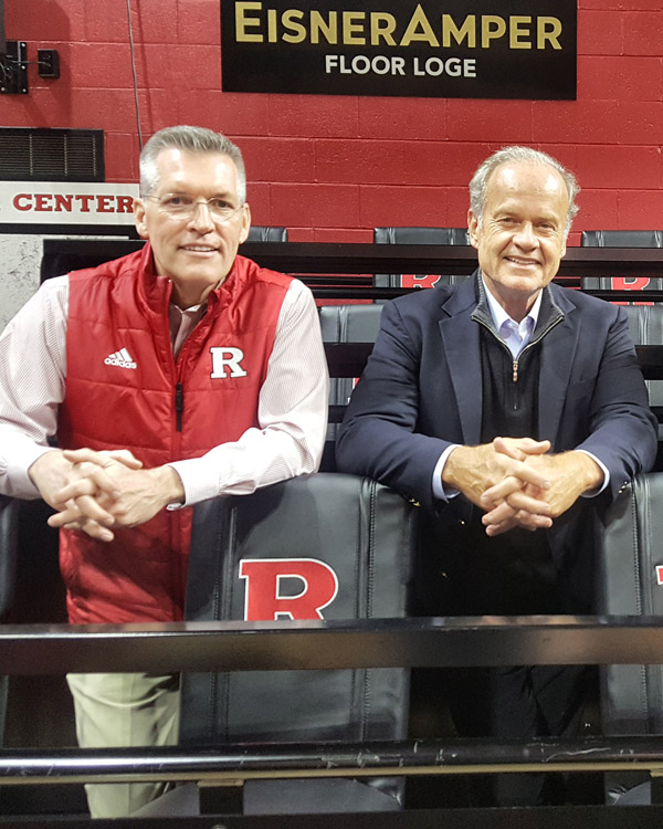 Rutgers University host Kelsey Grammer and Faith American Ale