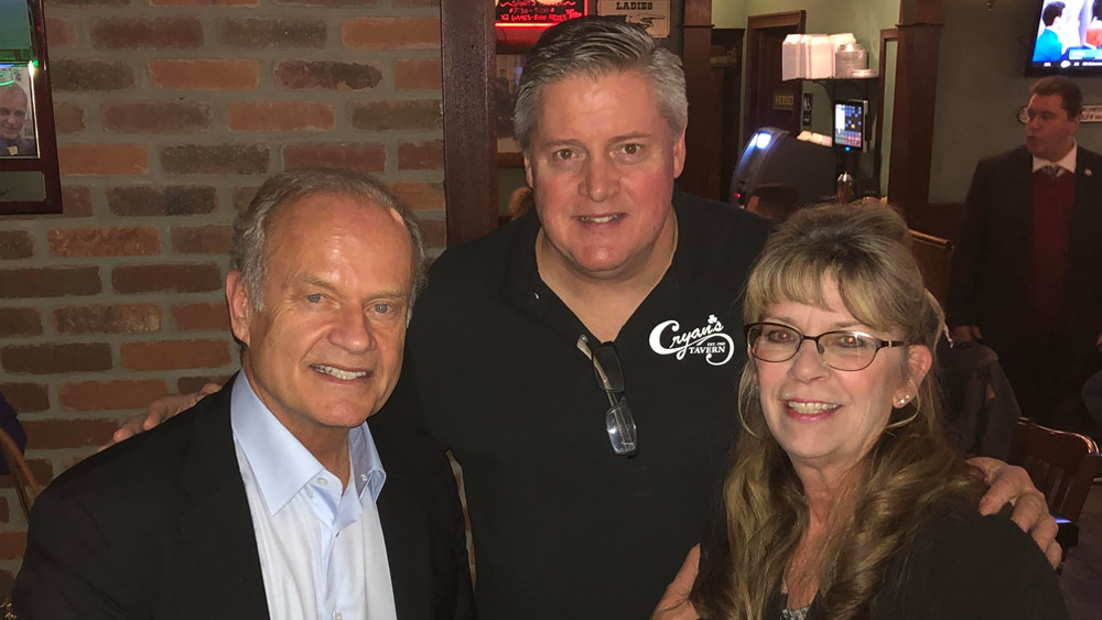 Cryan's Tavern welcomes Kelsey Grammer and Faith American Ale
