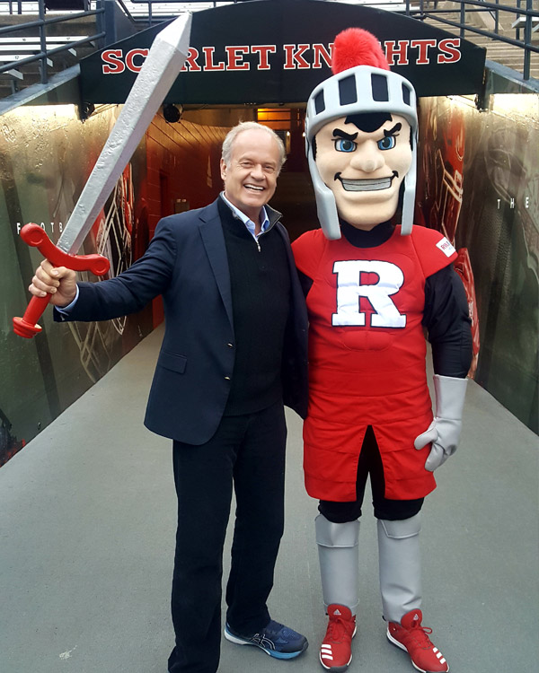 Rutgers University hosts Kelsey Grammer and Faith American Ale