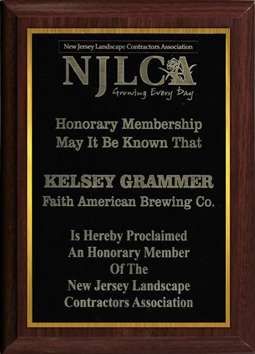 Kelsey Grammer honorary member of NJLCA