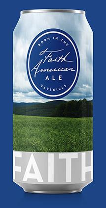 Faith American Ale can